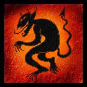 A lenda do pé do diabo